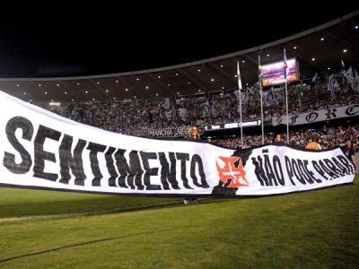 Torcida Vascaina lota o Maracanã mais uma vez na série B.