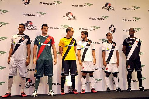 312891d16757d Vasco lança os novos uniformes de jogo para 2012 2013 ...