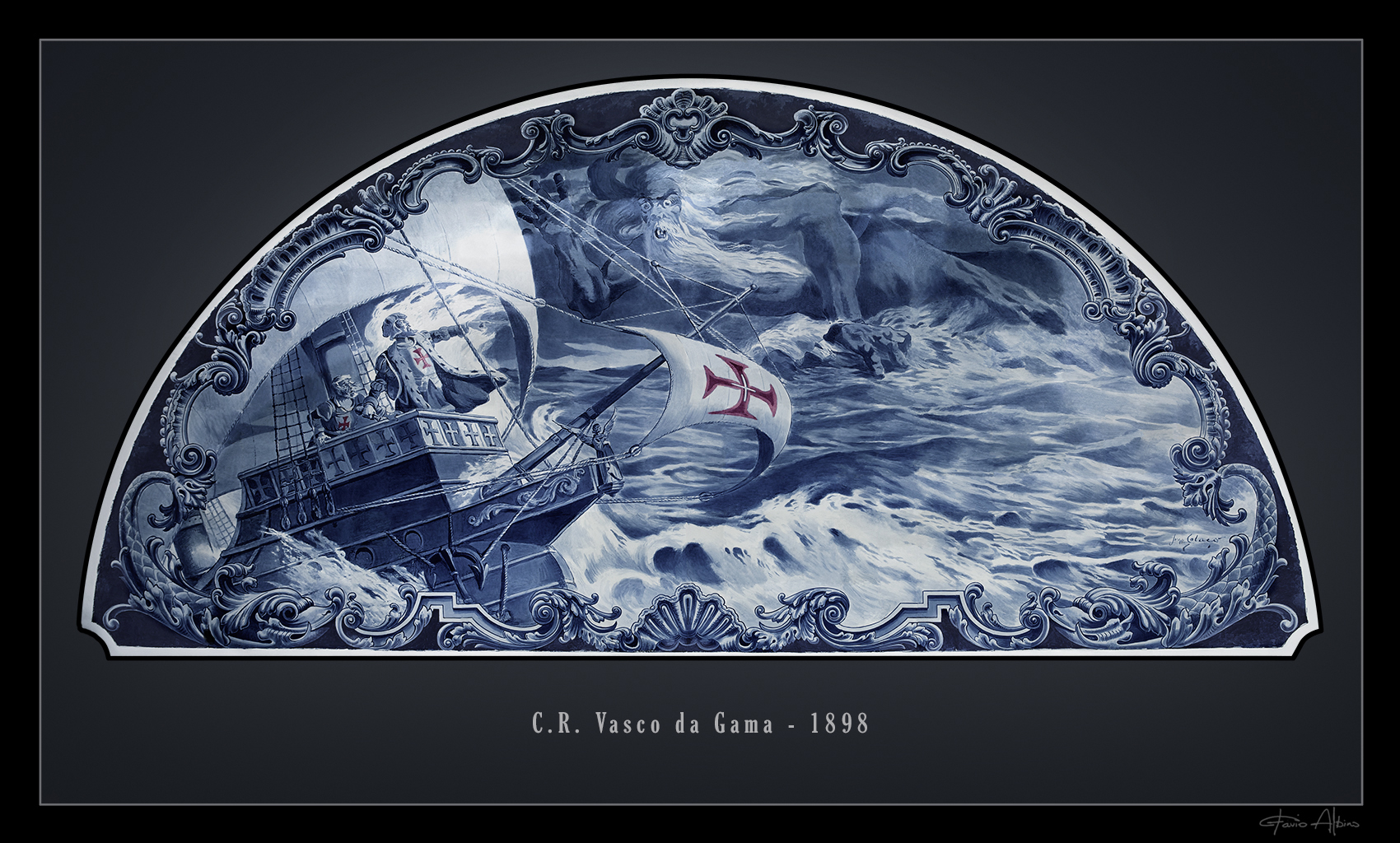27 PAINEL DE AZULEJOS S&195O JANU&193RIO – WALLPAPER #5D3050 1700x1024 Azulejo Para Banheiro