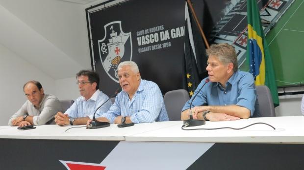 Apresentação de Paulo Autuori, o novo Técnico do Vasco, em São Januário