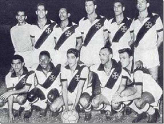 Vasco-Santos: Wagner, Paulinho, Bellini e Ivan; Urubatão e Brauner; Iedo , Pelé, Álvaro, Jair Rosa Pinto e Pepe.