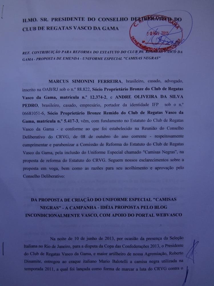 CAMPANHA CAMISAS NEGRAS: UMA CAMISA COM ALMA NOBRE PARA SER USADA EM OCASIÕES ESPECIAIS! (2/6)