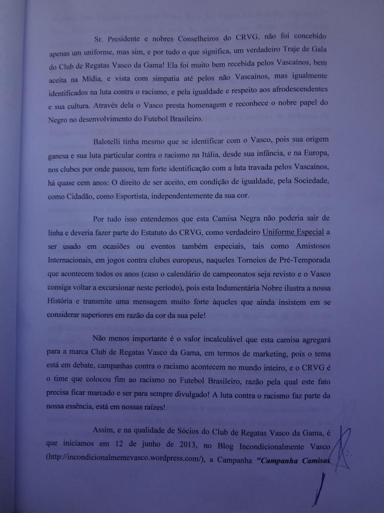 CAMPANHA CAMISAS NEGRAS: UMA CAMISA COM ALMA NOBRE PARA SER USADA EM OCASIÕES ESPECIAIS! (4/6)
