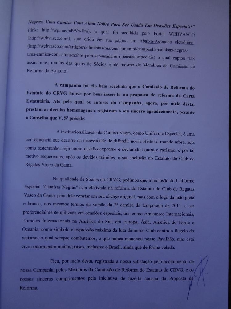 CAMPANHA CAMISAS NEGRAS: UMA CAMISA COM ALMA NOBRE PARA SER USADA EM OCASIÕES ESPECIAIS! (5/6)