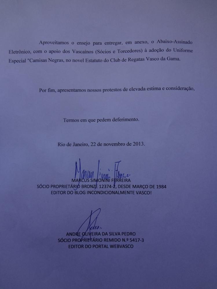 CAMPANHA CAMISAS NEGRAS: UMA CAMISA COM ALMA NOBRE PARA SER USADA EM OCASIÕES ESPECIAIS! (6/6)