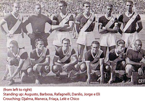 O Expresso da Vitória, Campeão Invicto do Sul-americano de 1948, no Chile