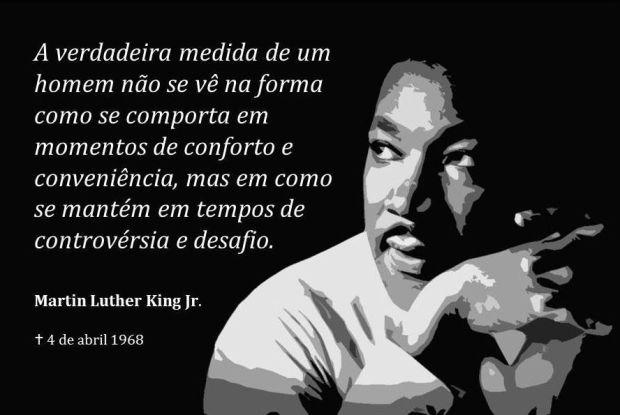 A medida de um homem, por Martin Luther King