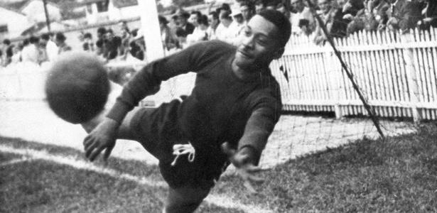Barbosa, ex-goleiro e ídolo do Vasco, do Expresso da Vitória