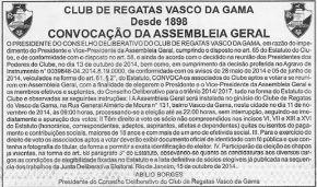 Convocacao-eleicoes-Vasco-eleição 11 11 2014