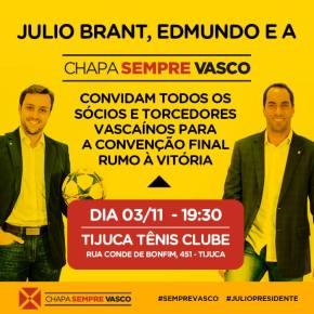 post convenção final Chapa Sempre Vasco - 03 11 2014