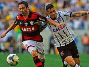 Flamengo e Corinthians receberam juntos 20% de toda a receita de TV do futebol brasileiro (Foto: Bruno de Lima/LANCE!Press)